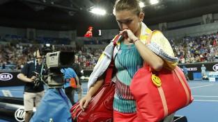 """Halepai sensacionāls fiasko """"Australian Open"""" 1. kārtā"""