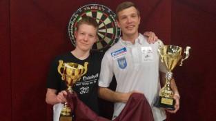 Razma un Slišāns iegūst godalgas starptautiskā darta turnīrā Lietuvā