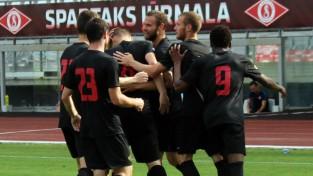 """""""Spartaks"""" turpina uzvarēt un saglabā desmit punktu pārsvaru"""