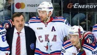 "Znaroka SKA mājās zaudē ""Jokerit"", Mozjakins labo KHL sezonas vārtu rekordu"