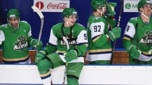KHL Zvaigžņu spēlē uzvaras vārtus gūst MHL hokejists