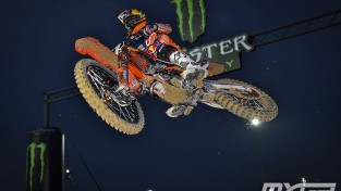 Jonass MX2 klasē izcīna pirmo uzvaru pasaules motokrosa čempionātā