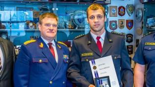 Briedis saņem Valsts policijas augstāko apbalvojumu