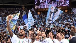 """""""Lazio"""" izlaiž 2:0 pārsvaru, taču fantastiskā galotnē iegūst Itālijas Superkausu"""
