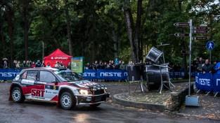 """""""Rally Liepāja"""" pirmā diena finišē ar smagām avārijām"""