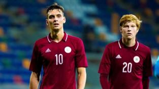 Latvijas U21 izlase atlases turnīrā paliek bez uzvarām – Andorā tikai neizšķirts