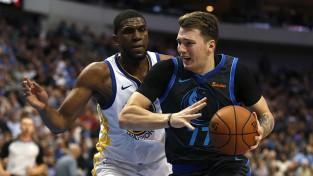 """Dončičs un """"Mavericks"""" apspēlē čempionus, Deivisam 40 punkti pret """"Nuggets"""""""