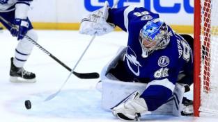 Vasiļevskis atgriežas Tampas vārtos ar izcilu spēli un uzvaru pār Toronto
