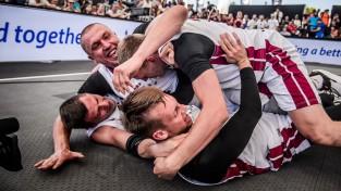 Latvijas 3x3 basketbolisti izcīna sudrabu Pasaules kausā