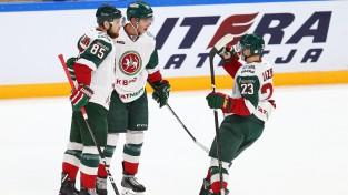 """""""Ak Bars"""" pārspēj arī """"Lokomotiv"""", Meisekam """"hat-trick"""" pret Minskas """"Dinamo"""""""