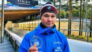 Veinbergs izcīna divus sudrabus Jaunatnes olimpisko spēļu kvalifikācijā