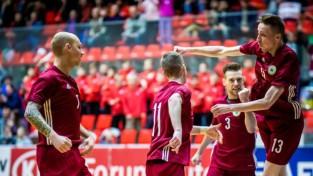 Latvijas izlase ceļu uz EČ 2022 sāk ar Igaunijas sagraušanu