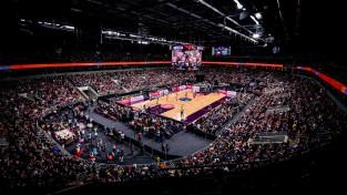 Spēle Rīgā bijusi otrā apmeklētākā Eiropas čempionāta kvalifikācijas ievadā