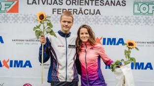 Rīgas sprintā uzvaras izcīna Grosberga un Upītis