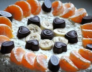 Biezpiena torte ar Laimas šokolādi