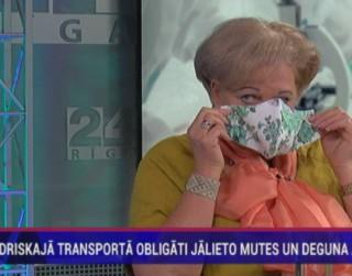 Video: Kāpēc sabiedriskajā transportā obligāti jālieto mutes un deguna aizsegi?