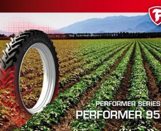 Firestone piedāvā jaunas riepas lauksaimniecībai Performer Row Crop