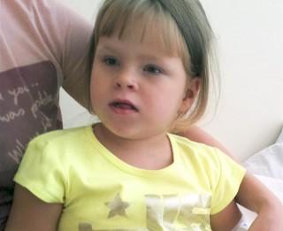 Aicina ziedot 4-gadīgai meitenei ar nenoteikto CNS anomāliju