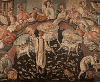 Galda kultūra Senajā Romā. 3 senās receptes