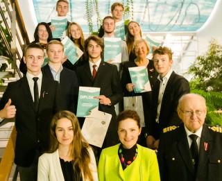 Franču licejam pirmā vieta Rīgas Brīvostas zinātniski pētniecisko darbu konkursā
