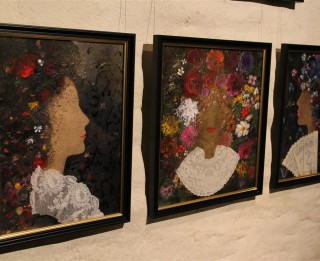 """Māksliniece Edīte Pauls-Vīgnere. Izstāde """"Krāsu erotika"""""""