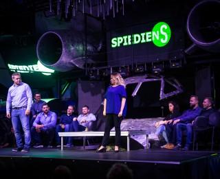 Radošā apvienība SPIEDIENS izziņo 9. sezonas pirmās izrādes