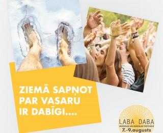 Festivāls LABA DABA ar īpašu akciju uzsāk biļešu tirdzniecību