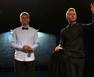 Video: Nikolajs Puzikovs atklāj jaunu talantu un ieraksta duetu