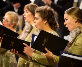 """Rīgas kamerkora """"Ave Sol"""" Starptautiskajai Mūzikas dienai veltīts koncerts """"Muzikālās diagonāles"""""""