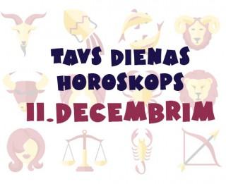Tavs dienas horoskops 11. decembrim