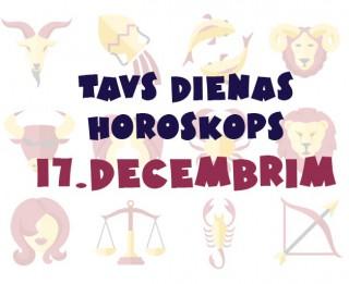 Tavs dienas horoskops 17. decembrim