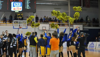 """Foto: BK """"Ventspils"""" uzvar un finālsērijā izvirzās vadībā"""