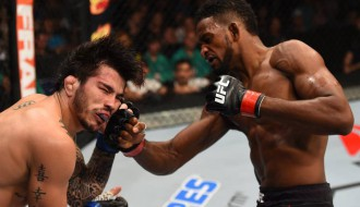 """Foto: Atskats uz cīņu šovu """"UFC Fight Night 74"""""""