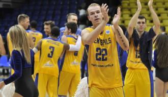 """Foto: Pēdējā grupu turnīra mačā 'Ventspils'' uzvar """"PGE Turow"""""""