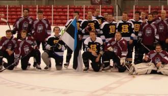 Toronto baltiešu čempionātā hokejā piekto reizi triumfē igauņi
