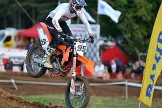 Augusts Justs nodrošina Latvijas čempiona titulu MX1 klasē