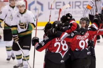 Golovkovam 1+2 pārliecinošā uzvarā QMJHL mačā
