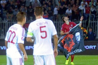 """UEFA pārstāvis: """"Ne Serbija, ne Albānija diskvalificēta netiks, mačs būs jāpārspēlē"""""""