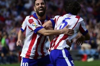 """""""Atletico"""" apspēlē """"Espanyol"""", izcīnot piekto uzvaru līgā"""