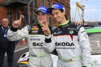 """""""Škoda"""" pilots Lapi pēc uzvaras rallijā Šveicē nonācis tuvu ERC titulam"""