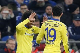 """""""Chelsea"""" grauj """"Schalke"""" ar 5:0 un uzvar G grupā"""