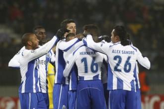 """Porto"" sarūpē antirekordu BATE un <i>ieved</i> ""Shakhtar"" 1/8 finālā"