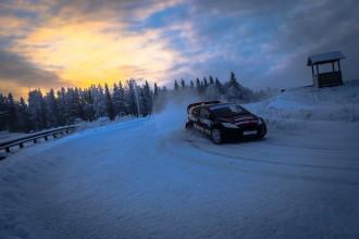 """Laika apstākļu dēļ atceļ Baumaņa un Nitiša """"RallyX on Ice"""" pirmo posmu"""