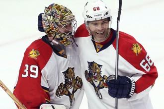 """Jāgram divi vārti, """"Panthers"""" cīņā par """"play-off"""" uzveic """"Senators"""""""