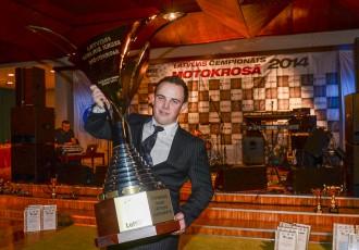 Foto: Motokrosa sezonas noslēguma laureātu apbalvošana 2014!