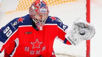 """CSKA pamatvārtsargs Sorokins paraksta līgumu ar Ņujorkas """"Islanders"""""""