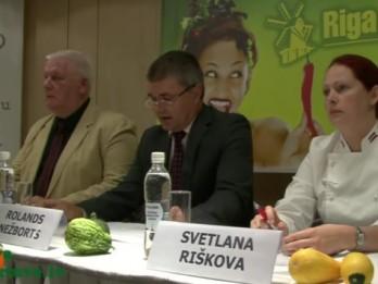 Video: Riga Food 2013 preses konferencē informē par izstādes programmu
