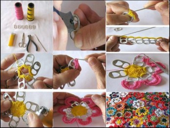 Radoša ideja: Kā izmantot skārda bundžiņu attaisāmos