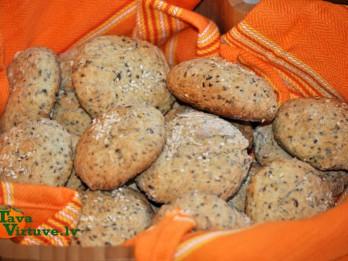 Pašceptas sēklu maizītes