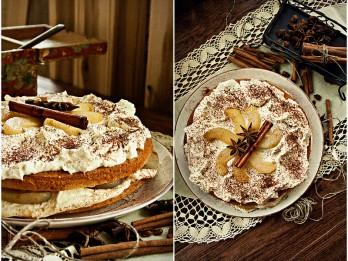 Bumbieru un putukrējuma torte